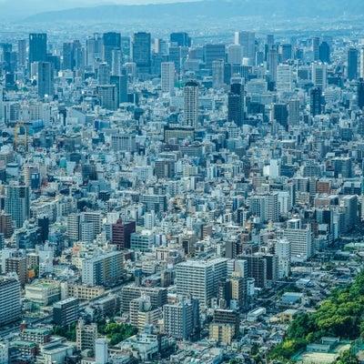 大阪の街並みの青かぶりした画像を色調修正で自然な色に!の記事に添付されている画像
