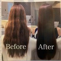 驚異の髪質改善メニュー試してみますの記事に添付されている画像