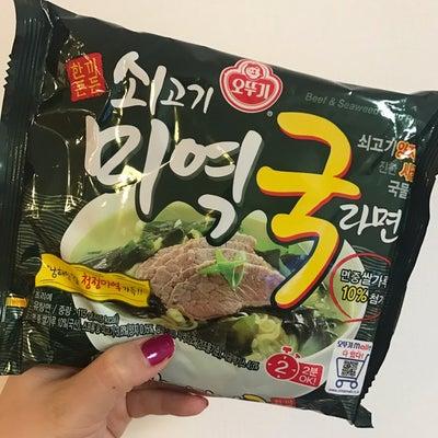 韓国人気!日本人好みなインスタントラーメン【牛肉わかめスープラーメン】の記事に添付されている画像