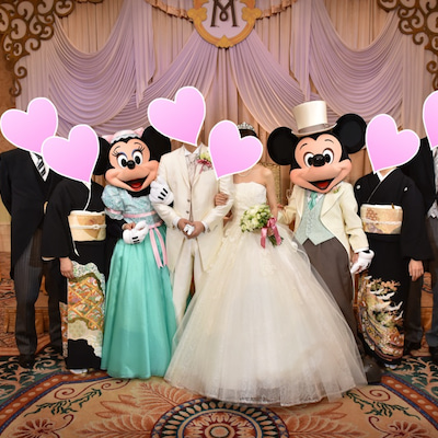 【ミラコスタ結婚式♡第4章の37】当日レポ〜披露宴(15)両親、ミッキー&ミニーの記事に添付されている画像