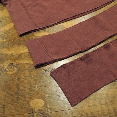 スウェット 着丈詰め & 袖幅詰めの記事に添付されている画像