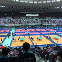 全日本卓球 in 大阪の記事に添付されている画像