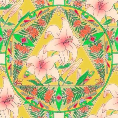 花曼荼羅と宝石療法を使って願いを叶えるオリジナルヒーリングアートを描こう!の記事に添付されている画像