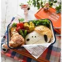 イノシシ被ったスヌーピー弁当~女子高校生のおべんとう♪の記事に添付されている画像