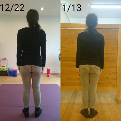 ビフォーアフター『10回で違いを感じ、20回で見た目が変わり、30回で体のすべての記事に添付されている画像