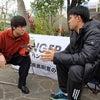 辺野古県民投票 宜野湾市で実施求め 若者がハンストの画像