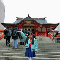 花園神社と芸能浅間神社の記事に添付されている画像