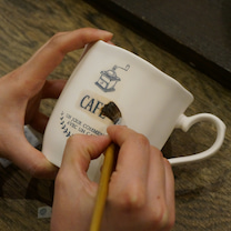 募集・幸せを感じる日々の暮らし「マグカップ作りとナチュラルシックテーブルとミニテの記事に添付されている画像