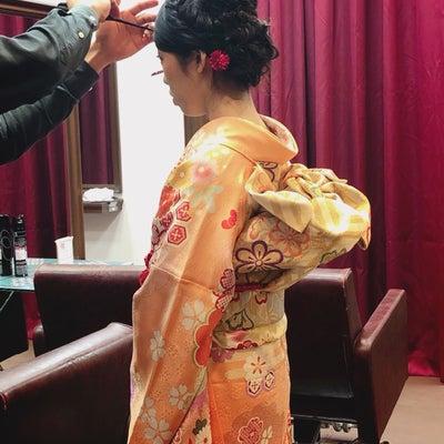 成人式のお支度パート2♡の記事に添付されている画像