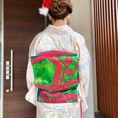 着物コーディネートの記事に添付されている画像