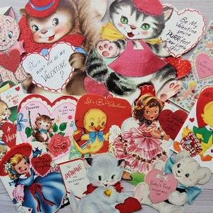 バレンタインカード UPしました(^^)の画像