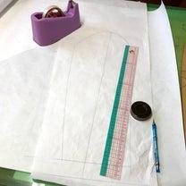 ロングジレの型紙からコートの記事に添付されている画像