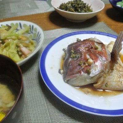 鯛のアラ炊き、じゃがいもとベーコンのポルトガル風の記事に添付されている画像