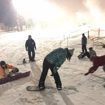 スノーボード講習会の記事に添付されている画像