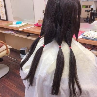 *またまた高校2年生さんのヘアドネーション !*の記事に添付されている画像