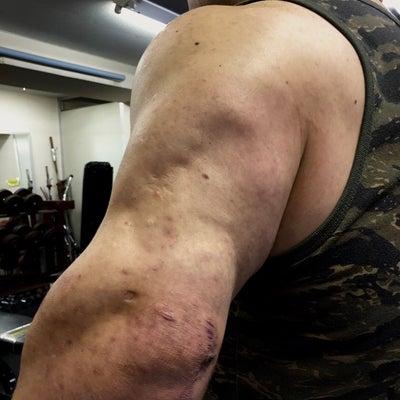 筋肉系のサプリメントの記事に添付されている画像