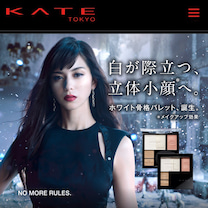 KATEの新作で⭐︎今年からは光を味方に立体小顔❗️の記事に添付されている画像