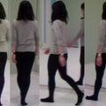 #美しい姿勢と歩き方の画像