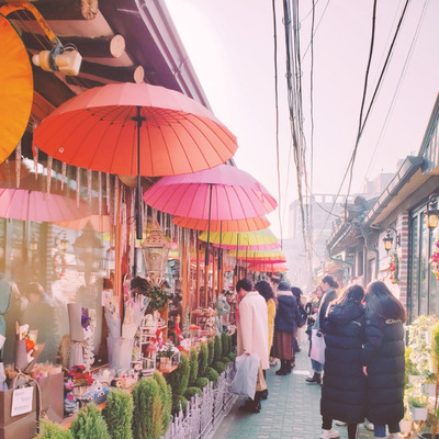 2019年1月韓国旅行☆韓国で話題のスポット益善洞韓屋村へ☆の記事に添付されている画像