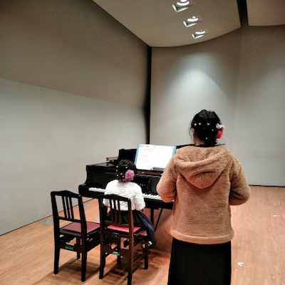 親子共演♬ @リトミカ音楽教室の記事に添付されている画像