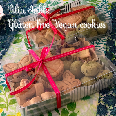 米粉のクッキーギフトBOX講座レポの記事に添付されている画像