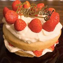 玄米入りの誕生日ケーキ(乳卵砂糖なし)の記事に添付されている画像