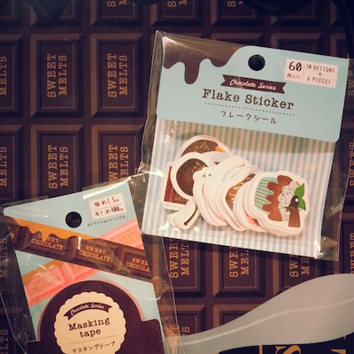 キャンドゥのchocolate seriesと2月のマンスリーページの記事に添付されている画像