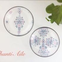 【生徒様作品】ガラスにアジアンテイストが美しい!の記事に添付されている画像
