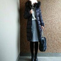 ママコーデ*リブニット×タイトスカートで綺麗目コーデ♡最後の再販!人気コートをポの記事に添付されている画像