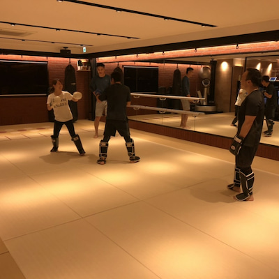 キックボクシングクラスの記事に添付されている画像