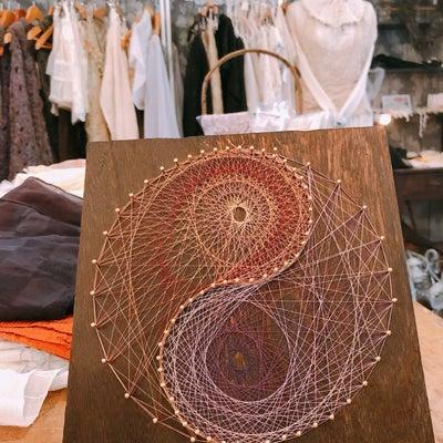 不思議森洋装店「糸かけ曼荼羅・花曼荼羅の会」でしたの記事に添付されている画像