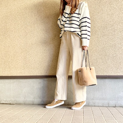 しまむらで即決♪2色買いしたZARA風ニット♡の記事に添付されている画像