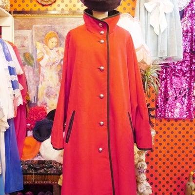 個性的な赤コート!ヨーロッパレディース古着Goghゴッホの記事に添付されている画像
