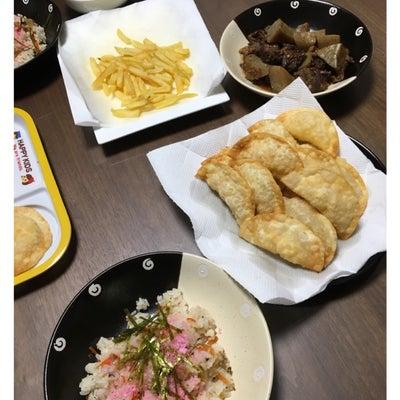 今日の晩御飯の記事に添付されている画像