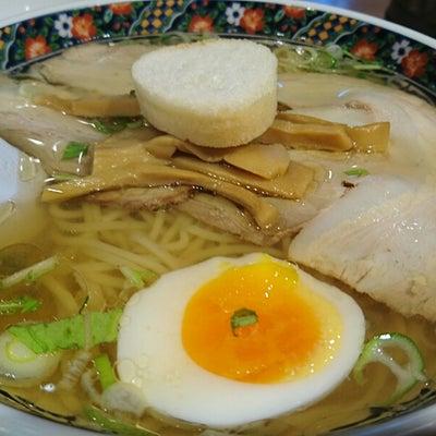 【北海道めし】あじさい 塩ラーメンの記事に添付されている画像