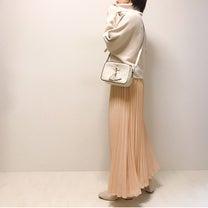 予想外の色合いだったけどお気に入りになったプリーツスカートの記事に添付されている画像