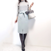【UNIQLO】一目で心奪われた上品清楚スカートをNew in♡の記事に添付されている画像