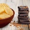 ポテトチップス も チョコレートも 選択次第・・・・