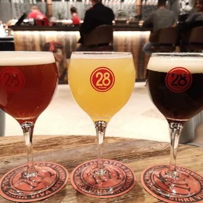 駅直結の自家醸造ブリュワリー・カフェ @ B28 by Caulierの記事に添付されている画像