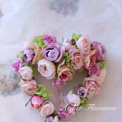 ピンクのハートリースの記事に添付されている画像