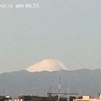 朝からhappy♡富士山の記事に添付されている画像