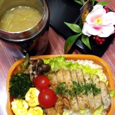 レシピあり【中学生野球部弁当 豚丼】の記事に添付されている画像