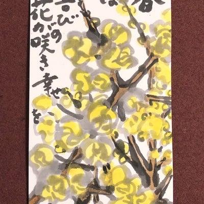 ロウバイ蝋梅の記事に添付されている画像