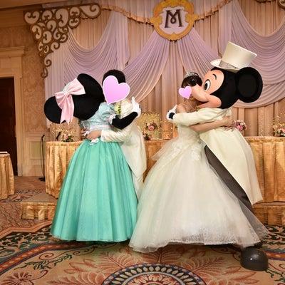 【ミラコスタ結婚式♡第4章の39】当日レポ〜披露宴(17)ミッキー&ミニーとお別の記事に添付されている画像