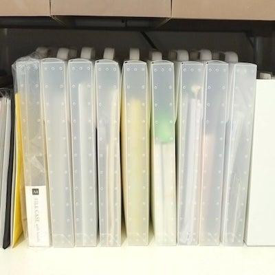 100均ファイルで『書類棚』の整理整頓の記事に添付されている画像