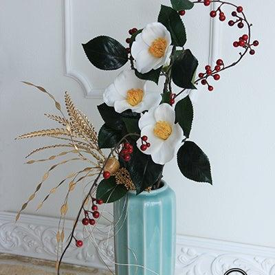 おごそかに1月の和の花の記事に添付されている画像