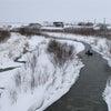 リバーランズスルー River runs through Furano in winterの画像
