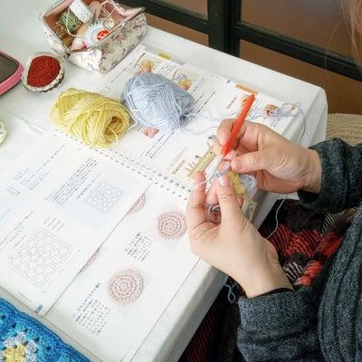 可愛い作品を編みながら かぎ針編みを学びます。の記事に添付されている画像