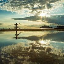 *日本のウユニ塩湖の記事に添付されている画像