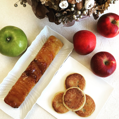 リンゴのお菓子レシピの記事に添付されている画像